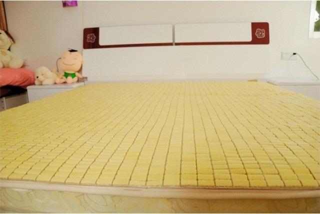 Chiếu trúc hạt vàng tạo cảm giác dễ chịu, hài hòa khi sử dụng