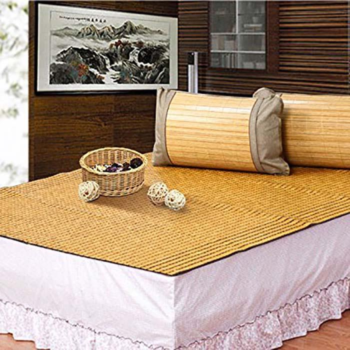 Giường ngủ nệm kết hợp với chiếu trúc
