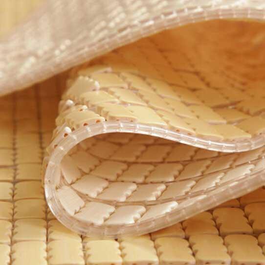 Chiếu trúc mắt nhỏ có viền màu trắng 180x200cm (1m8)