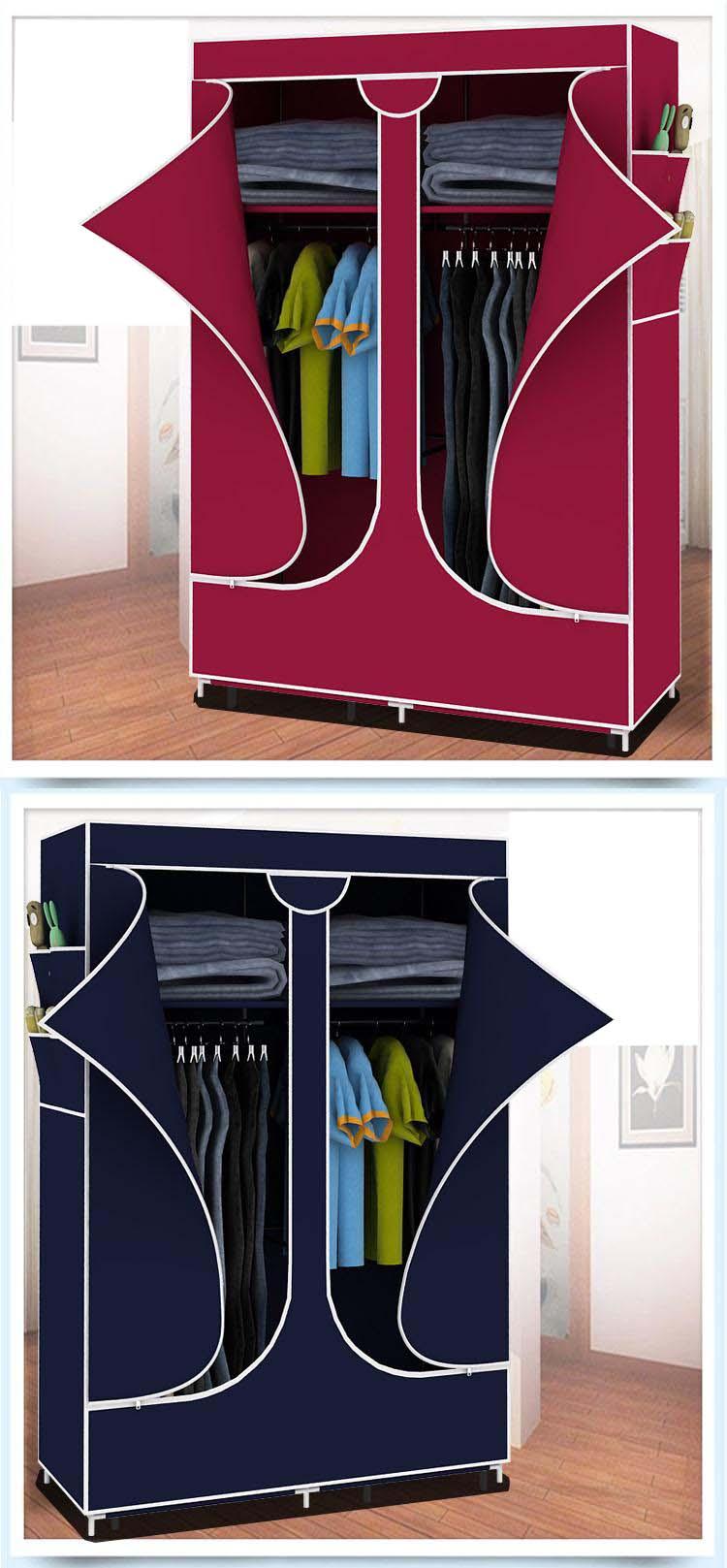 Tủ vại đựng quần áo kích thước 90x155cm