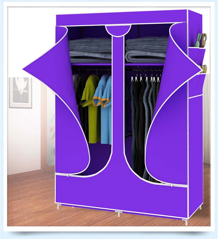 Tủ vải đựng quần áo kích thước 100x160cm