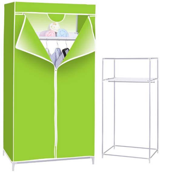 Tủ vải đựng quần áo kích thước 75x155cm